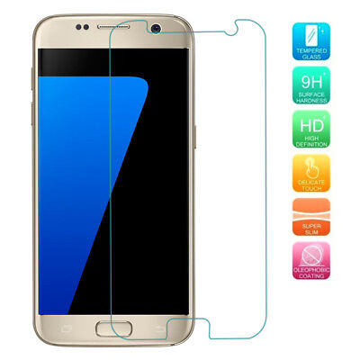 Fr Samsung Series phone 9H Real A+ Full Cover Tempered Glass Screen Protector EN