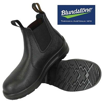 Blundstone Work Boots 330 Steel Toe Safety Black Size AUS/UK 13 NEW IN BOX