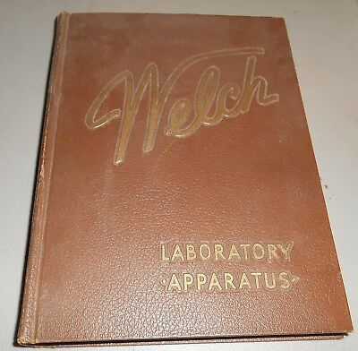 1949 Welch Scientific Laboratory Apparatus Catalog - Chemicals and Supplies