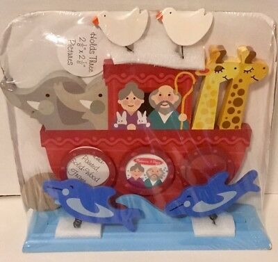 NIP Melissa & Doug Noah's Ark Photo Frame