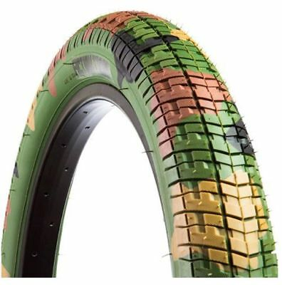 "Fiction Troop Limited Edition BMX Tyre 20 x 2.30"" - Jungle Camo Tire"