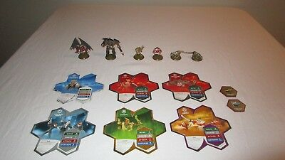 HEROSCAPE LOT w/ CARDS GLYPHS TAELORD SOULBORGS DEATHREAVERS DEATHWALKER 8000