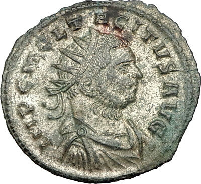 TACITUS Original 275AD Serdica Authentic Ancient Roman Coin JUPITER i65568