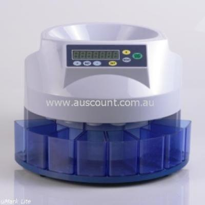 AusCount  COIN COUNTER SORTER  AUS800  12 month WARRANTY  cash clearance
