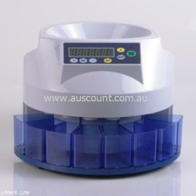 AusCount  COIN COUNTER SORTER  AUS800  12 month WARRANTY  final clearance