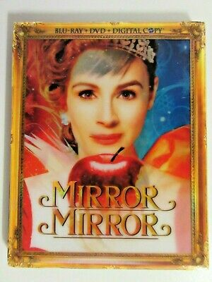 Mirror Mirror Blu-ray DVD With Lenticular Slipcover