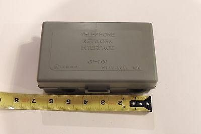 Sylvania Outdoor Telephone Network Interface Device Protector 1 PR NEW NID SNID