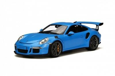 GT Spirit 1:18 Porsche 911 (991) GT3 RS 2016 - Riviera Blue GT139 Sold Out