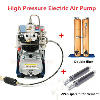 30MPA High Pressure Air Pump& Water-Oil Air Filter Element Compressor Filtration