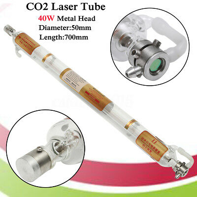40W 700mm Engraver Laser Tube For CO2 Cutting Engraving Cutting Marking Machine