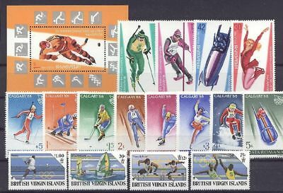 Olympiade 1988, Olympic Games - LOT ** MNH