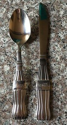 Coca-Cola Stainless Steel  SPOON and a Knife by Gibson