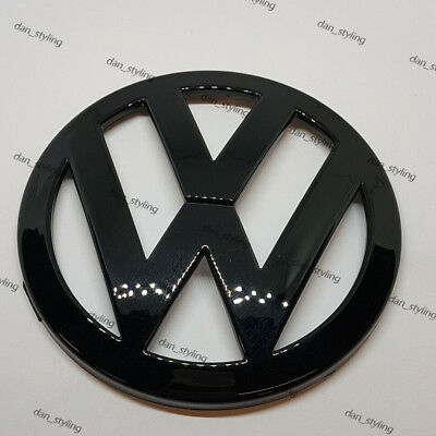 VW Volkswagen Golf Mk5 V Rear Black Gloss Badge Logo Boot Rear GTI Emblem 11cm