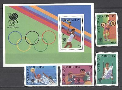 Olympiade 1988, Olympic Games - Antigua u.Barbuda ** MNH