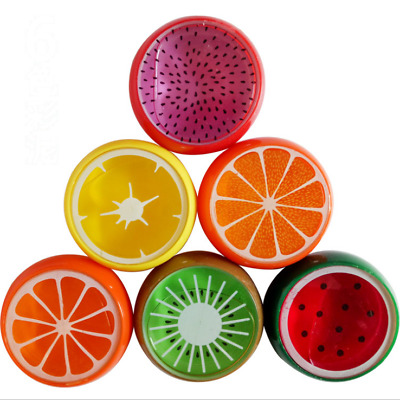 6x Creative Fruit Crystal Clay Putty Jelly Slime Plasticine Mud Educational Toy