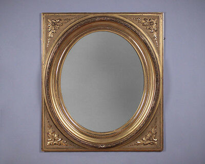 Antique French Gilt Wall Mirror c.1890.