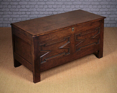 Antique 18th.c. Oak Chest or Coffer c.1760.