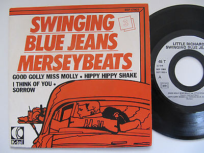 """The Swinging Blue Jeans Merseybeats Good Golly Miss Molly EP 7"""""""