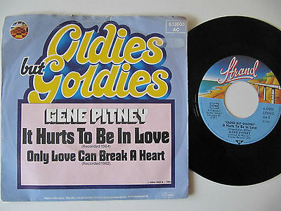 """Gene Pitney It Hurts To Be In Love 7"""""""