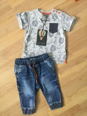 Next, Jarvis Archer Baby Boys 3-6 Months Outfit, Jeans, T Shirt Inc Bnwt
