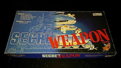 Vintage 1984 Secret Weapon Board Game Parker Brothers
