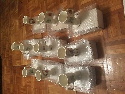 Lot of 10  Very nice Antique Vases Irish Coffe for Decoration