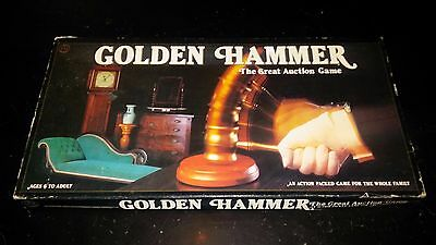 Vintage 1983 Golden Hammer The Art Auction Game