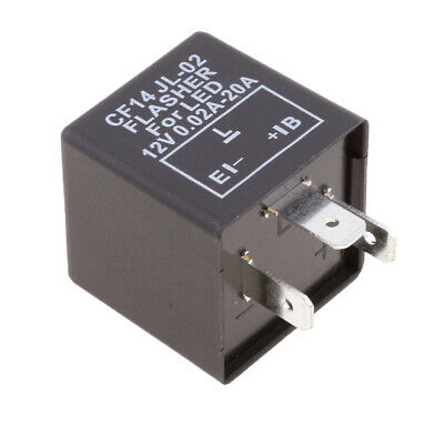 3-Pin CF-14 JL-02 EP35 LED Flasher Relay Fix Turn Signal  Flash Issue