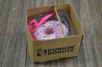 Dunkin Donuts ChristmasHoliday Ornament Classic Donut collectible New