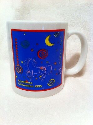 Set of 4 Appaloosa Convention 1995 Las Vegas Coffee Mug