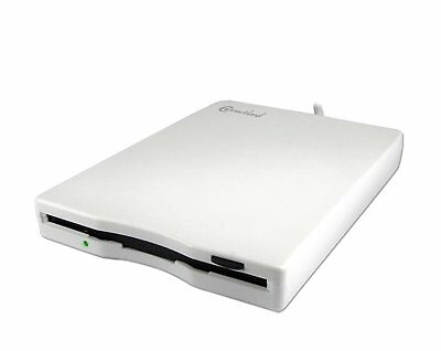 Connectland LECT-DISK-EXT-K520C External Floppy Drive 3.5-Inch USB 2.0