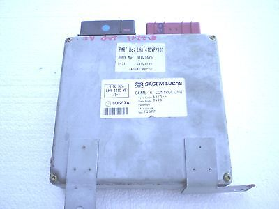 Jaguar XJ6 VandenPlas 1995 to 1997 Engine Computer ECU ECM  LNA1410VF/102