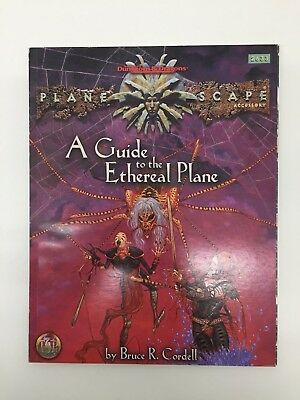 Tsr Dungeons & Dragons Planescape A Guide To The Ethereal Planets Expansion 2633