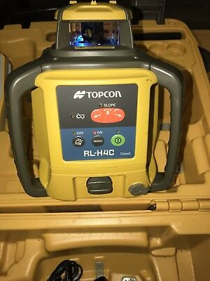 Topcon RL-H4C Laser Rotary Level with LS-80L Receiver.