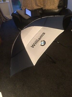 BMW Williams Collection Golf Umbrella - Brand New in Plastic Sleeve