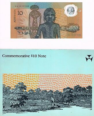 Commemorative 10 $ Note Australia