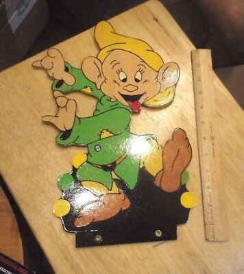 Hand Painted Disney Dopey wall art  ----Snow White and the 7 Dwarves