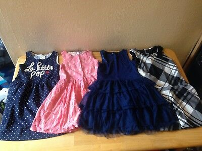 Girls 7-8 Yrs Beautiful Dress Bundle From M&S, Next & H&M Reduced!