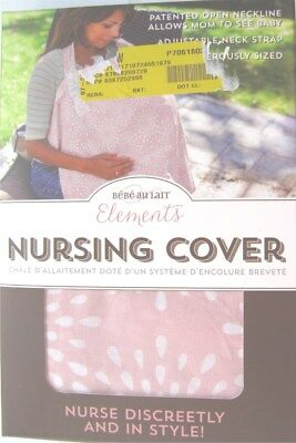 Bebe au Lait Elements Nursing Cover Pink Petals Nurse Discreetly and In Style