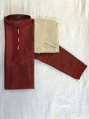 Men's Kurta Pajama Indian Pakistani Size XLarge 44