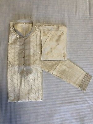 Men's Kurta Pajama Indian Pakistani Size  Medium 40