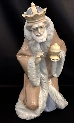 """~Mint in Box~Lladro """"King Melchior"""" Christmas/Nativity (5479) FREE Fast Shipping"""