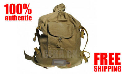 Soviet Russian Red Army Soldier Canvas Backpack Rucksack Veshmeshok USSR