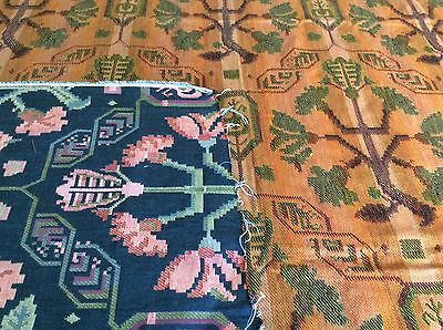 Vintage Mission Style Arts and Crafts Decorator Fabric 54 x 66