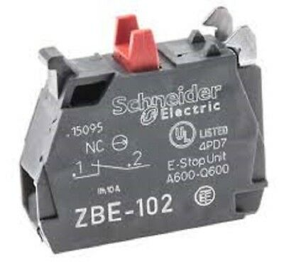 Schneider ZBE-102 Normally Closed Contact block