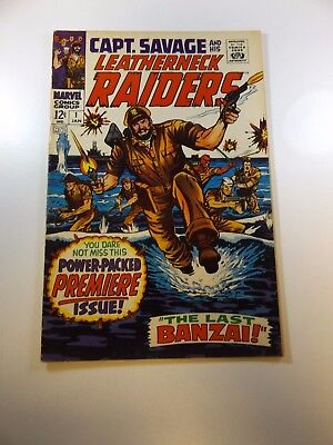 Capt. Savage and His Leatherneck Raiders #1 FN+ condition