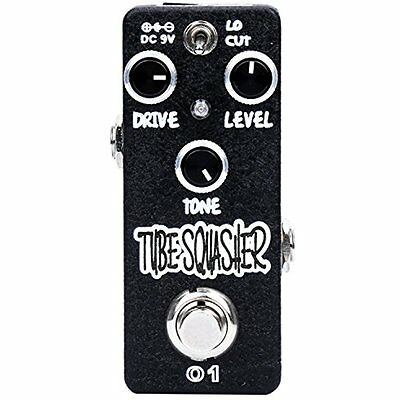 Xvive Overdrive Guitar & Bass Accessories Effects Pedal, Sound (Squasher O1)