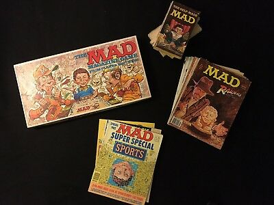 22 ITEM MAD Magazine Fan Gift Set Lot - Board Game, Books, Super Special
