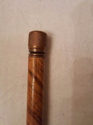 Ultra rare ,antique erotic, double  gadget stanhope walking stick s, cane
