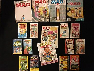 18 ITEM Ultimate Usual Gang of Idiots MAD Magazine Gift Set Lot - What Me Worry?